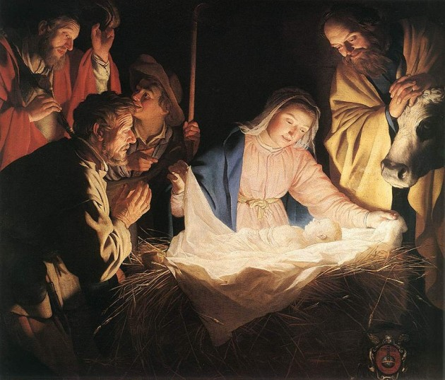 Gerrit van Honthorst, Adoration of the Shepherds, 1622
