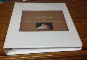 lectio divina binder