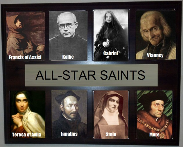 all-time great saints