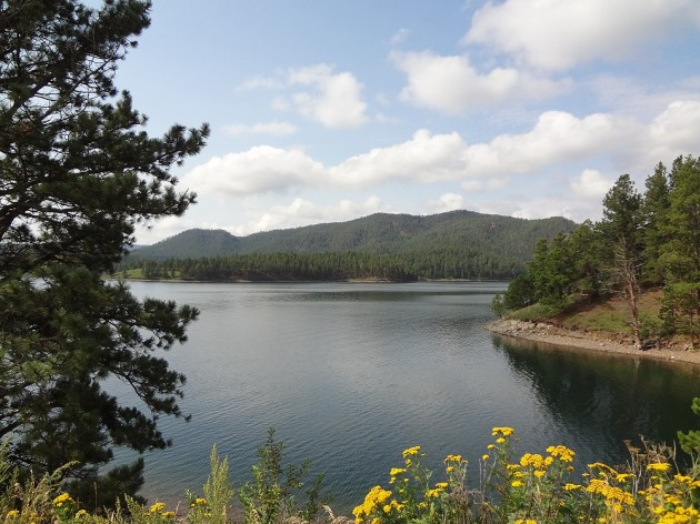 Pactola Lake in the Black Hills of South Dakota