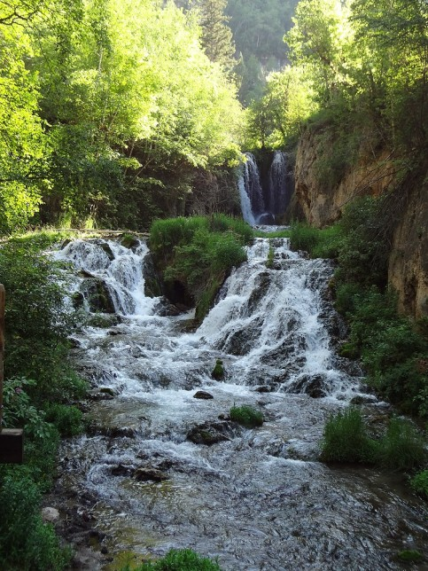 Roughneck Falls in Spearfish Canyon