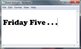 Friday Five_notepad2
