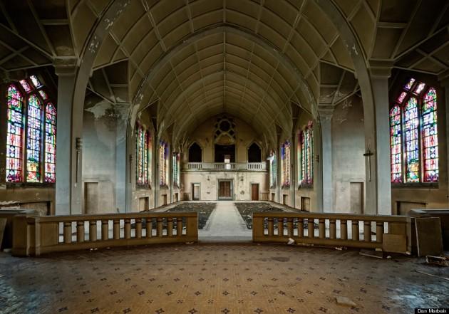 Abandoned Catholic School, France Dan Marbaix