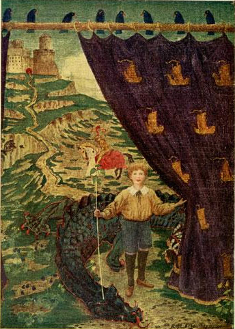 """""""Once more were damsels rescued and dragons disembowelled..."""""""