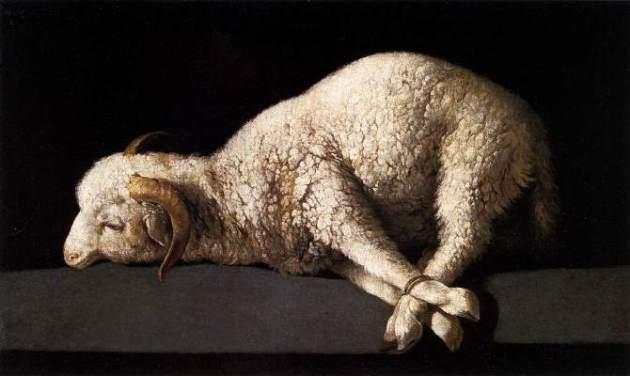 Agnus Dei (Lamb of God) by Francisco de Zurbaran, 1640.