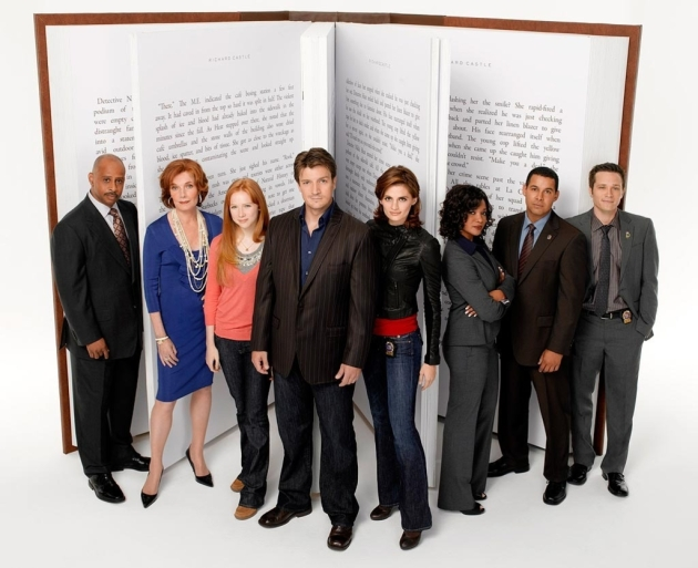 castle cast season two