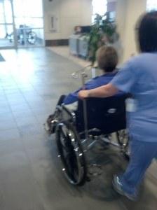 wheelchair exit