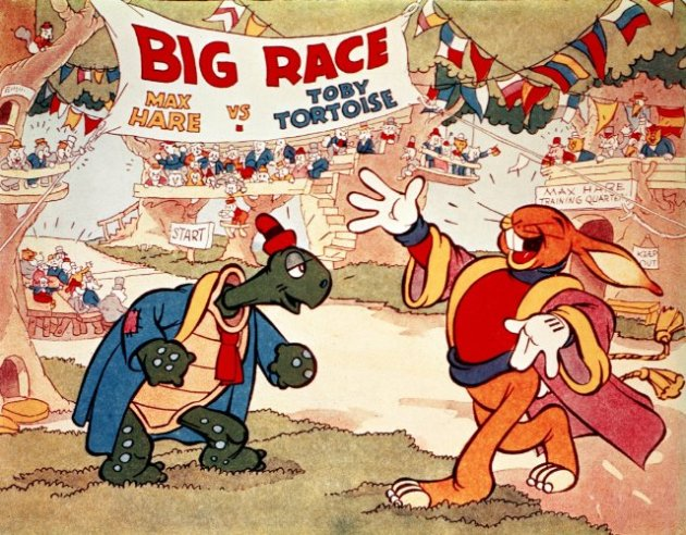 """Disney's """"The Tortoise and the Hare"""" (1934)"""