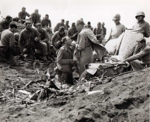 There was no indifference or complacency to be found at Iwo Jima at this Mass.