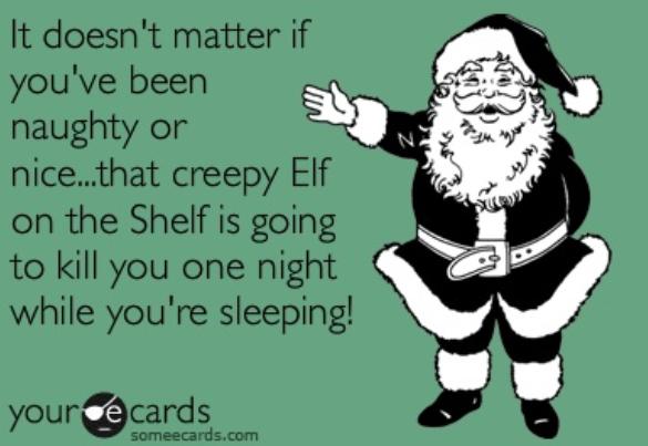 elf on shelf santa