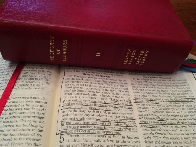 LOTH, Vol. 2 and my bible opened to Ephesians 4:31-32.