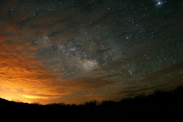 Star Clouds over Arizona Credit & Copyright: Ulrich Beinert