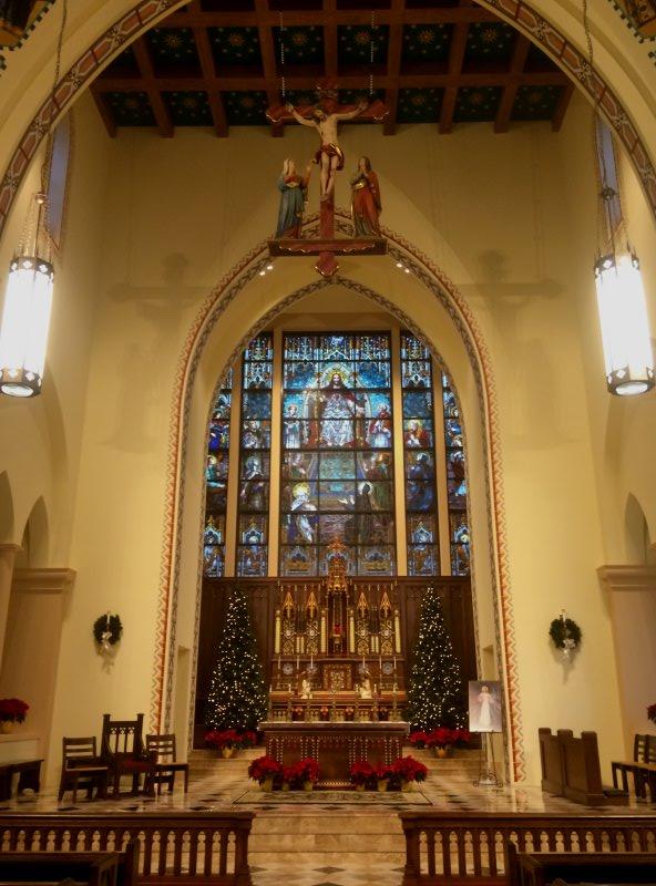 St. Thomas Aquinas Catholic Church in Lincoln, Nebraska.